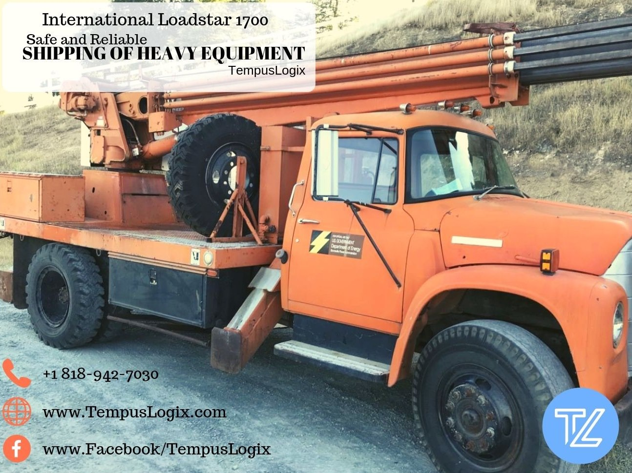 International Loadstar 1700 Boom truck